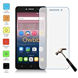 "Owbb Protection écran en Verre Trempé pour Alcatel Pixi 4 (6""pouce) Smartphone Films de protection Transparents Ultra Clear -A Series"