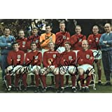 LIMITED EDITION ENGLAND 1966 WORLD CUP SQUAD SIGNED PHOTO + CERT FOOTBALL PRINTED AUTOGRAPH SIGNATURE SIGNED SIGNIERT AUTOGRAM