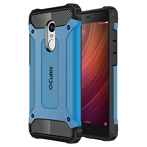 Mi Redmi Note 4 Case Cubix Rugged Armor Case For Xiaomi Mi Redmi Note 4 (blue)