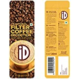 iD Filter Coffee Decoction Travel Sachet, 20ml