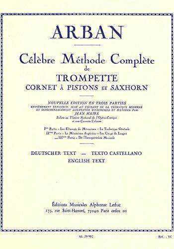 METHODE VOLUME 3 TROMPETTE par ARBAN/MAIRE