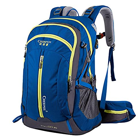Hiking Backpack, 40L Nylon Large Capacity to meet Sport Camping