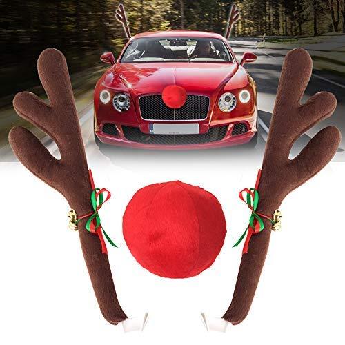 ih Jingle Bells Kostüm Rudolph Auto Weihnachten Ornament Dekor Mit ()