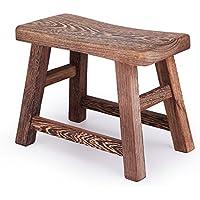 Preisvergleich für OOFAY QZY Hand Made Millettia Laurentii Holz Hocker, Mini Die Exquisite Holzbank