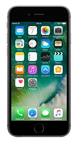 Apple iPhone 6s 32GB Smartphone Libre - Gris Espacial  (Reacondicionado Certificado)
