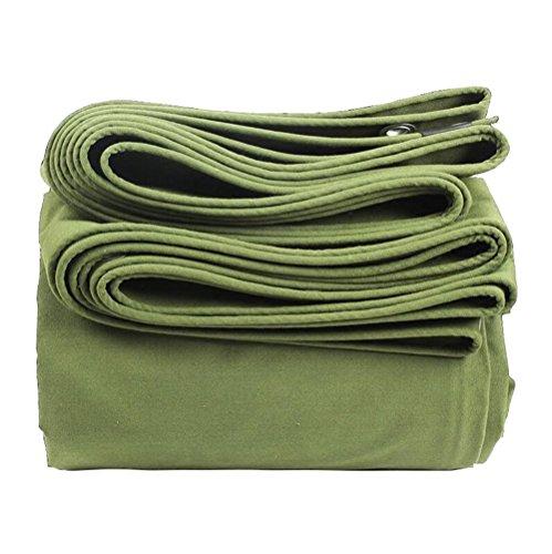 Dongyd Bâches bâche en Toile épaisse/bâche imperméable Protection Solaire/bâche Camion/Tissu Abat-Jour bâche/Tissu Couteau Chaud en Plein air / 600g / mètre carré, 0,85 mm