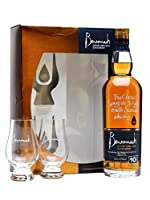 Benromach 10 Year Old Gift Pack with 2x Glasses Single Malt Whisky by Benromach
