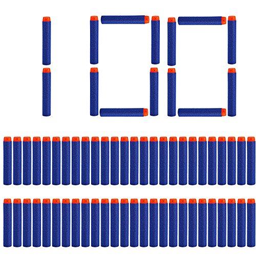LVHERO 100 Nerf N Strike Blaster Kompatibler Pfeile Dart Bullets