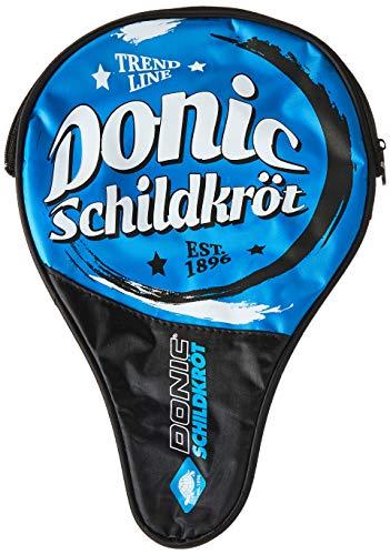 Donic-Schildkröt Tischtennis Schlägerhülle Trendline, Schlägerhülle für einen Schläger, extra Ballfach für 3 Bälle, trendiges Design, 818507