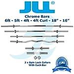 JLL� Weight Bar Chromed Steel 18 in,...