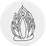 Azeeda 58mm 'Feuer' Pin Knopf-Abzeichen (BB00051464)