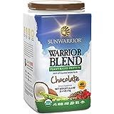 SUNWARRIOR Warrior Blend (Vegan Protein) Schokolade, 1er Pack (1 x 1000 g)