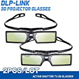 2pcs Pergear 144Hz DLP-Link Active Shutter 3D Brille fürr Optoma/BenQ/Acer/ LG Projector 3D Beamer und Projektor
