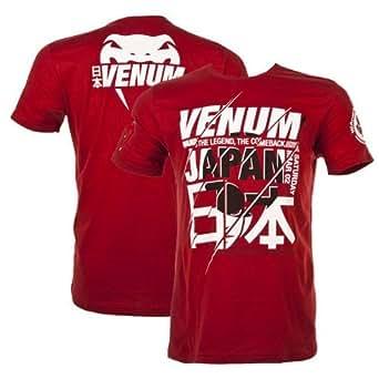 Venum Wand's Return Japan UFC T-shirt walkout - Rouge - XL
