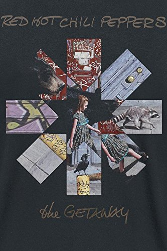 Red Hot Chili Peppers The Getaway T-Shirt schwarz Schwarz