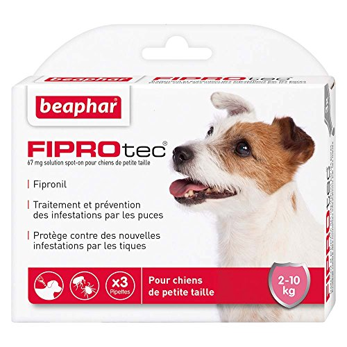 Beaphar - FIPROtec, pipettes anti-puces et anti-tiques...