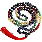 Divine Magic 7 Chakra - Crystal Mala For Men And Women For Activating And Balancing Chakras
