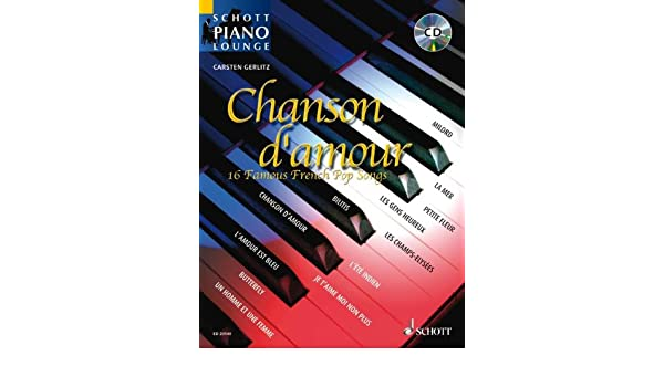 Cd Piano Lounge Collection Chansons DAmour