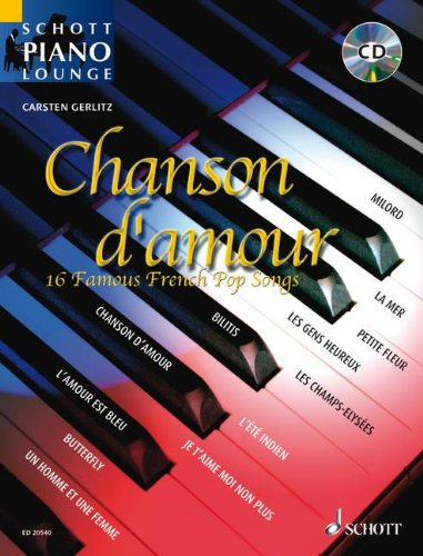 SCHOTT CHANSON D'AMOUR - PIANO Classical sheets Piano