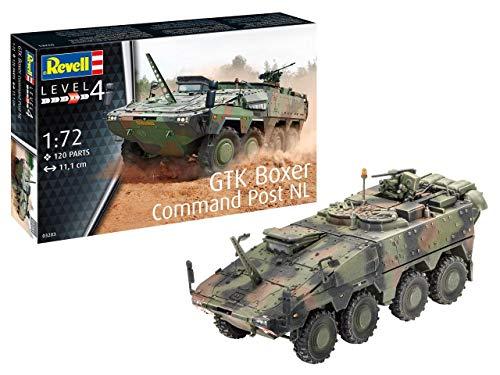 Revell 03283 GTK Boxer Command Post NL originalgetreuer Modellbausatz für Fortgeschrittene, Mehrfarbig, 1/72