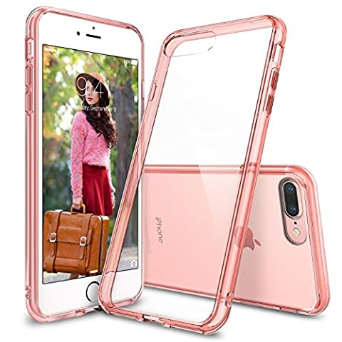 Coque iPhone 7 Plus, Ringke [FUSION] Crystal Clear PC Retour