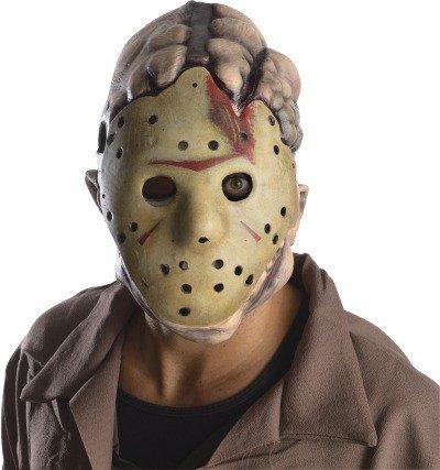 Jason Voorhees Doppel Gesichts Maske aus Freitag der 13 (Jason Kostüm Freitag Der 13.)