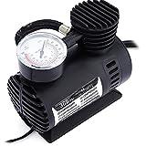 Vp 300Psi 12V Car Electric Air Compressor Tyre Pump (Black)
