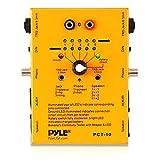 Pyle-pro PCT10 testeur de câbles audio pyle avec 8 prises
