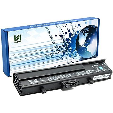 HASESS Alto Rendimiento Batería Portátil para Ordenador Portátil Dell XPS M1530 1530 6 Células 5200mAh 11.1V Batería de Recambio - 12 meses de