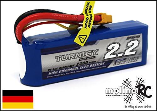 PZS Accus Turnigy - Batterie Lipo de 2200 mAh mAh mAh 3S 11,1 V 25-35 C, aussi pour T-Rex 450 | Magasiner  be06bf