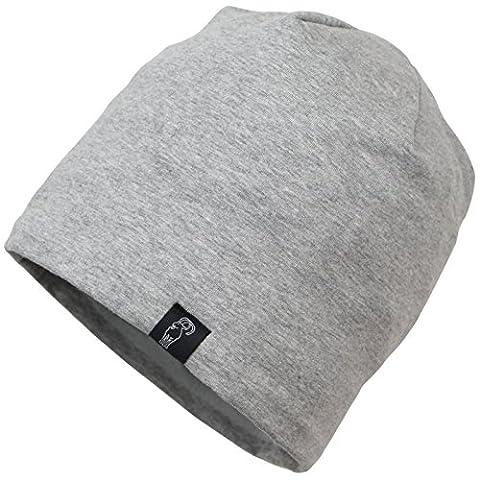 Baumwollmütze TALLINN fleecegefüttert One size von Alpidex Wintermütze Fleecefutter Beanie Cap Hüte Hut Unisex Mütze für Damen und Herren, Farbe:mountain grey
