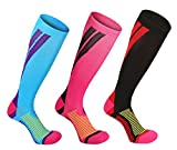 Kompressionsstrümpfe/Kompressionssocken/Compression Socks/Strümpfe Kompression /Laufsocken/Thrombosestrümpfe/für Damen Herren , Sport, medi, Flug, Reisen, Schwangerschaft & Medizinische.