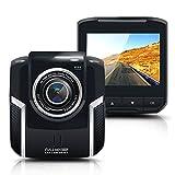 Dash Cam, Upintek Full HD 1080P Car Video Recorder cámara de vigilancia del monitor Dashcam Negro boxfor coche del vehículo DVR G-sensor de aparcamiento Monitor