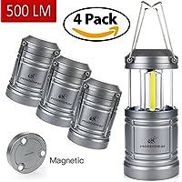 teleskopische led cob zelt licht taschenlampe camping laterne mit haken