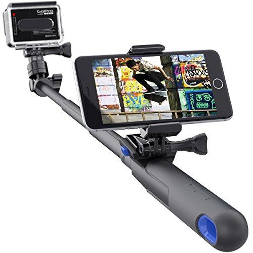 Palo Estensibile per Camera Sp Cases Smart - 28 inch Nero (Default, Nero)