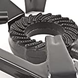 PoundSaver® New Cast Iron Large Gas LPG Burner Cooker Gas Boiling Ring Restaurant Catering