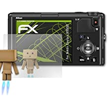 atFoliX Screen Protection for Nikon Coolpix S9500 Mirror Screen Protection - FX-Mirror Protector Film with mirror effect