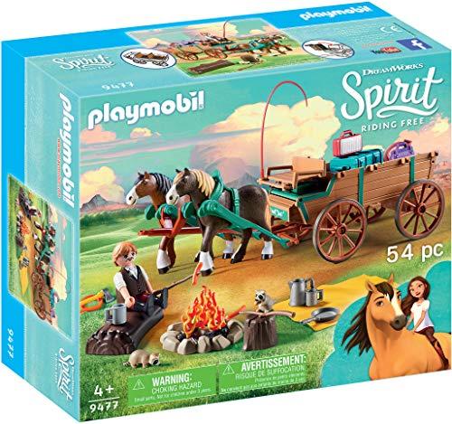 Spirit- Lucky's Dad and Wagon Lucky Papá carruaje