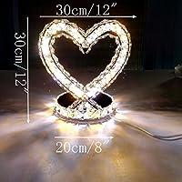 LEDMLSH Kreative Liebe Herzförmige Lampe Schlafzimmer Nachttischlampe Hochzeitsgeschenke Hochzeit Tischlampe Nachttischlampe... preisvergleich bei billige-tabletten.eu