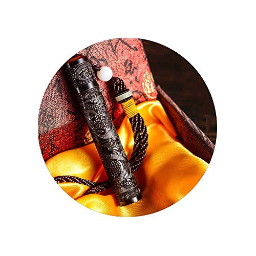 OPSRVRGZD Flut Feuer Folding Schlag einen Schlag Leichter Aufladung Persönlichkeit Männer Senden Freund Kreative Windproof USB, Sandelholz Drachen