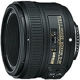 Nikon AF-S NIKKOR 50 mm 1:1,8G Objektiv (58mm Filtergewinde) (Zertifiziert und Generalüberholt)