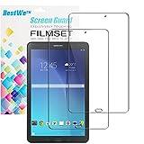 Samsung Galaxy Tab E 9.6 Displayschutzfolie, Bestwe (2 Stück) Kristallklar Displayschutzfolie Schutzfolie Folie