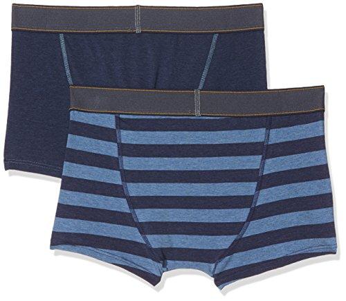 Skiny Herren Pants Denim Selection Pant 2er Pack Mehrfarbig (Denim Stripe Selection 1163)