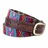 YANGFEIFEI-YD Folk style female embroidery belt leisure denim skirt female fine cloth belt fashion decorative belt