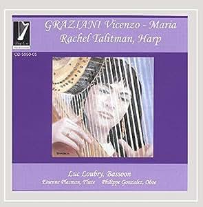Graziani Vincenzo-Maria: Works for Harp