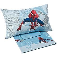 Spider-Man Manhattan, completo cama individual (franela Caleffi