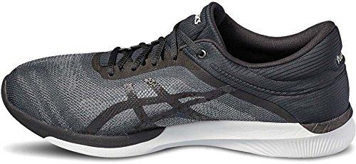 Asics Fuzex Rush, Chaussures de Course Homme midgrey/black/white