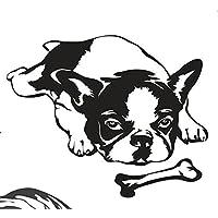 Französische Bulldogge Nr.7 25cm x 20cm Aufkleber, Autoaufkleber