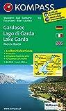 Gardasee /Lago di Garda /Lake Garda /Monte Baldo: Wander- und Seekarte mit Kurzführer und Radrouten. GPS-genau. Dt. /Ital. /Engl. 1:50000 (KOMPASS-Wanderkarten, Band 102) -