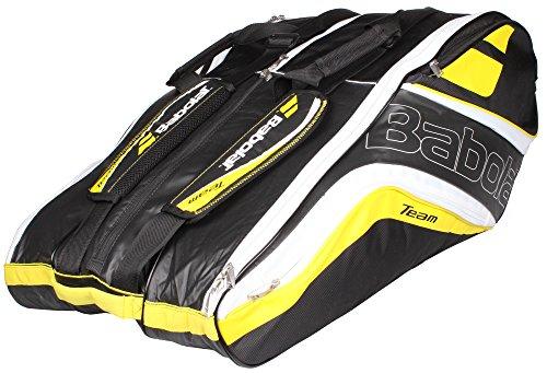 Babolat Schlägertasche Racket Holder X12 Team Line Yellow, gelb, 76 x 45 x 32 cm, 109 Liter, 751120-113 (Holder Racket)